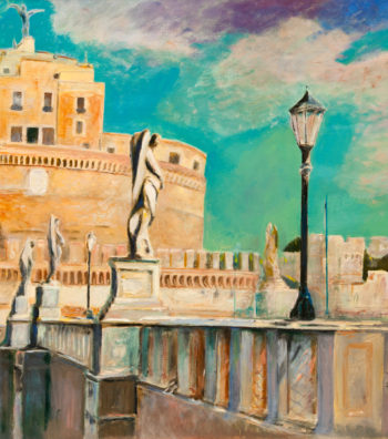Castel Sant' Angelo, 54x32, OonC