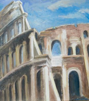 Colosseum, 24x24, OonC
