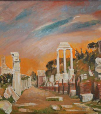 I Fori (Roma), 60x36, OonC