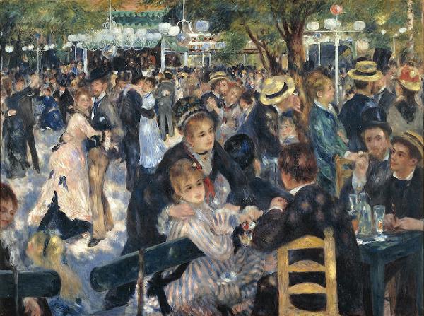 Pierre-Auguste Renoir, Bal du moulin de la Galette